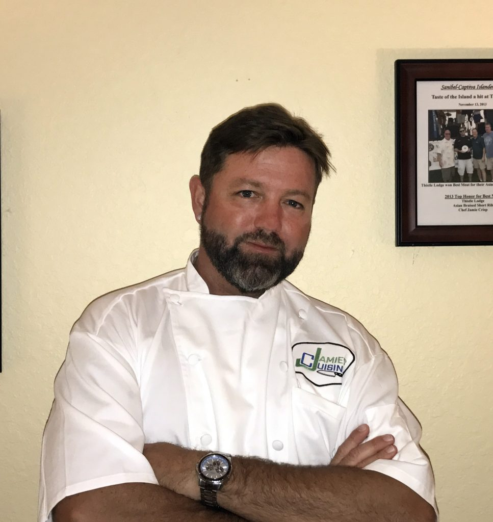 Chef jamie Crisp image